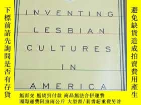 二手書博民逛書店英文原版:Inventing罕見lesbian cultures in AmericaY367822 Elle