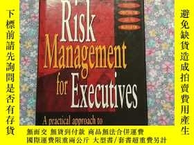 二手書博民逛書店Risk罕見Management for Executives