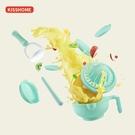 研磨器 寶寶輔食研磨碗手動食物水果泥研磨器料理輔食機嬰兒輔食工具套裝 晶彩