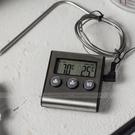 髮絲紋大螢幕長針款探針溫度計【E019】...
