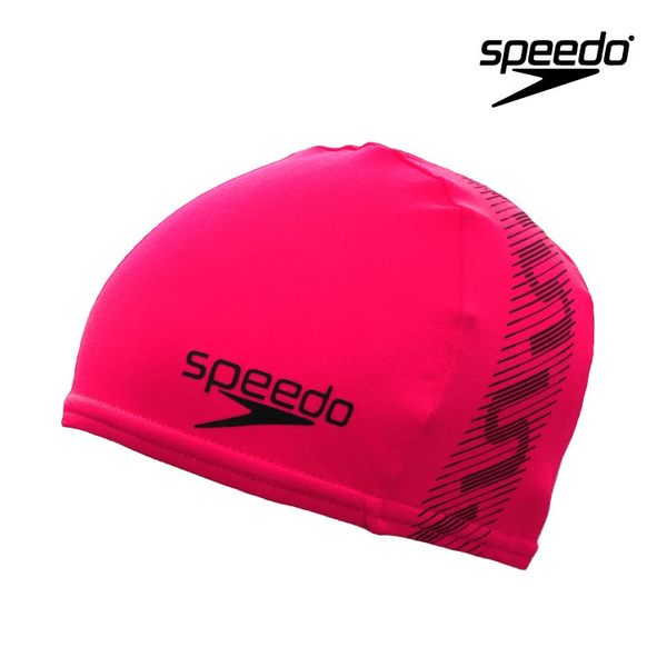 ≡Speedo≡   成人抗氯泳帽 Monogram Endurance+ Cap    SD8087728595