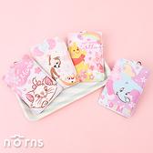 閃亮塗鴉皮革票夾 迪士尼櫻花季系列- Norns 正版 票卡夾 證件套 小熊維尼 奇奇蒂蒂 小飛象 瑪麗貓