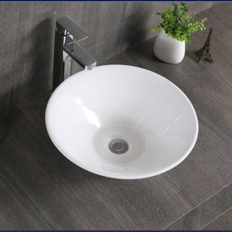 陶瓷洗臉盆燈罩型圓形藝術盆衛生間臺上盆歐式洗手盆洗面盆【頁面價格是訂金價格】