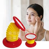 派樂 伸縮雙邊化妝鏡/360度雙向鏡(1入) 梳妝鏡 美容鏡 圓鏡 立鏡桌鏡 隨身鏡