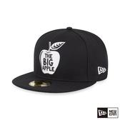 NEW ERA 59FIFTY 5950 大蘋果 黑 棒球帽