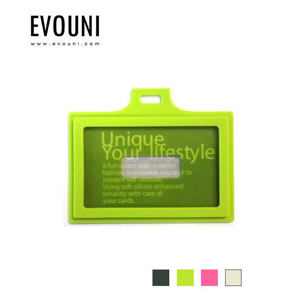 【A Shop】EVOUNI-C22 繽_造型橫式證件套-共4色 (不含吊繩)