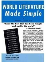 二手書博民逛書店《World Literature Made Simple》 R