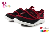 IFME 日本機能鞋 水涼鞋 小童 寶寶休閒運動鞋 P7622#黑紅◆OSOME奧森鞋業
