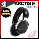 [ PCPARTY ] 賽睿 SteelSeries ARCTIS 9 Wireless 雙模無線 電競耳機麥克風