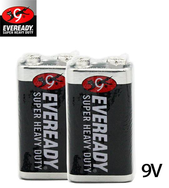 永備EVEREADY 9V 碳鋅電池 1入