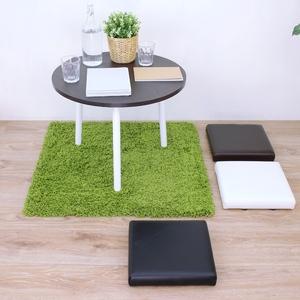 【頂堅】寬31公分-厚型沙發(皮革椅面)和室坐墊(三色可選)-2入組白色