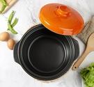 砂鍋 陶瓷砂鍋燉鍋煲湯鍋家用明火燃氣直燒大容量彩色沙鍋粥煲