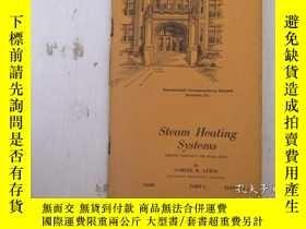 二手書博民逛書店民國:Steam罕見Heating Systems【USA】關於房屋建築結構等Y21905