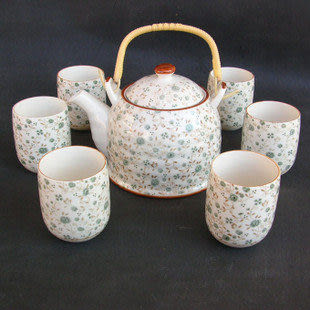 景德鎮陶瓷正品 家用提梁大茶具C024