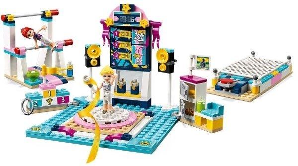 【LEGO樂高】FRIENDS 斯蒂芬妮的體操表演 #41372