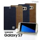 【默肯國際】Metal-Slim 三星 Galaxy S7 超薄瘋馬紋側翻皮套 保護殼 透明殼 手機殼 手機套 蘆洲