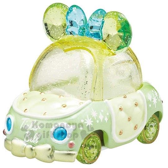 〔小禮堂〕迪士尼 Tinker Bell TOMICA小汽車水晶金龜車《綠》珠寶車.公仔.玩具.模型 4904810-59556
