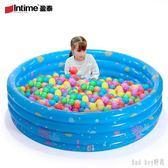 嬰兒海洋球池充氣家庭游泳池家用兒童折疊戲水池波波池釣魚池 QQ28484『bad boy』