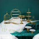 甜品臺展示架甜點盤冷餐茶蛋糕架子下午茶點心架 YJT