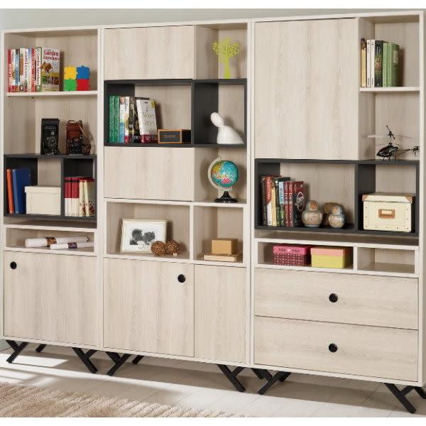 書櫃 書櫥 MK-372-123 優娜7尺書櫥【大眾家居舘】