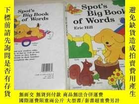 二手書博民逛書店spot s罕見big book of wordsY161929