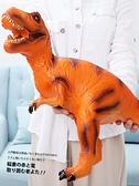 大號仿真軟膠恐龍玩具霸王龍模型兒童動物3-6歲男孩玩具-金牛賀歲