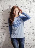 【BTIS】The Btis Spirit 拉克蘭中性長袖T恤 藍色