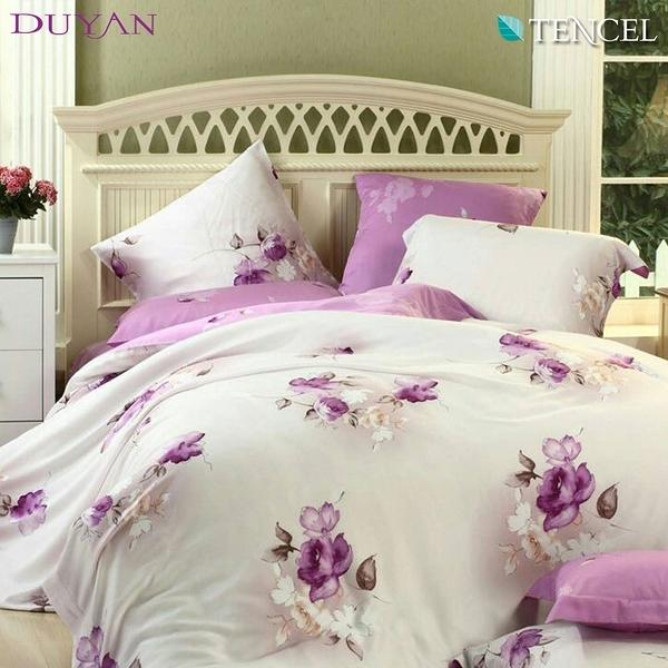 《DUYAN竹漾》100%天絲雙人加大兩用被床包四件組- 朝想徽因