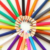 ◄ 生活家精品 ►【P101】無毒桶裝色鉛筆18色 學生 設計 辦公 多色 創意 文具 繪畫