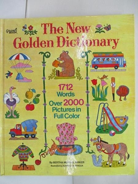【書寶二手書T2/語言學習_DGZ】The New Golden Dictionary
