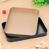 長方形不粘模具 蛋糕 烘培模具 牛軋糖用盤 蛋糕捲曲奇烤餅烤盤 Igo