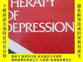 二手書博民逛書店Cognitive罕見Therapy of Depression
