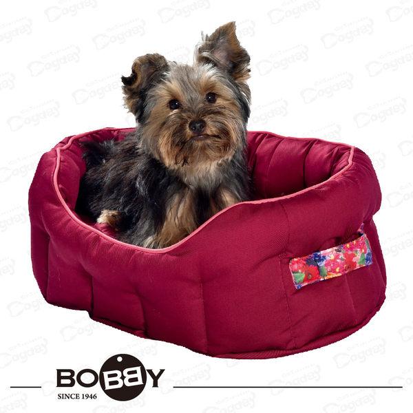 法國《BOBBY》紓壓睡窩 S  經典橢圓窩 小狗床 睡窩 貴賓/馬爾濟斯/雪納瑞