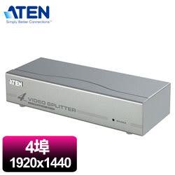 ATEN  4埠視訊螢幕分配器    VS94A