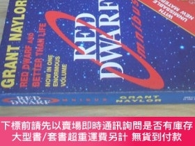 二手書博民逛書店英文原版罕見Red Dwarf Omnibus: Red Dwarf And Better Than Life