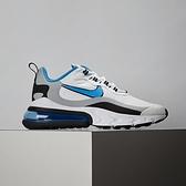 Nike Air Max 270 React 男鞋 白藍 休閒 慢跑 氣墊 休閒鞋 CT1280-101