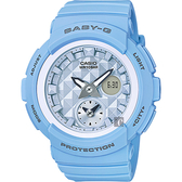 CASIO 卡西歐 Baby-G 愛旅行雙顯錶-藍 BGA-190BE-2ADR / BGA-190BE-2A