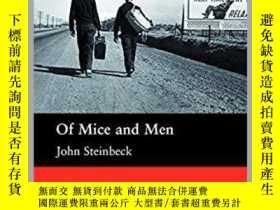 二手書博民逛書店Of罕見Mice and Men Macmilland Read