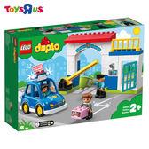 樂高 LEGO 得寶 10902 警察局