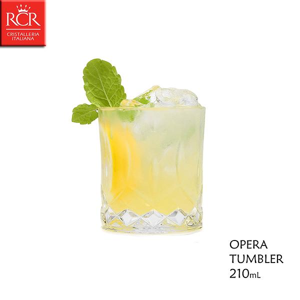 義大利RCR OPERA系列 TUMBLER 210mL 水晶威士忌杯 烈酒杯 調酒杯 DOF
