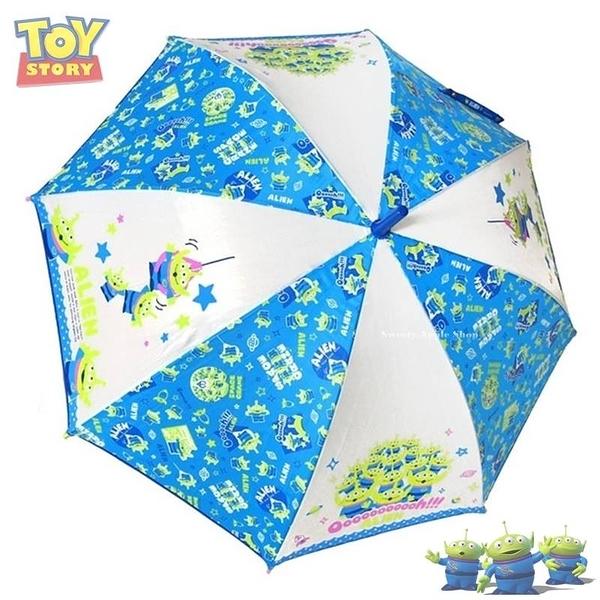 日本限定  迪士尼 玩具總動員 三眼怪 星球滿版  直立雨傘 55 cm