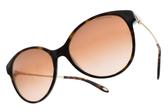 Tiffany&CO.太陽眼鏡 TF4127 81343B (琥珀棕-金) 高雅浪漫愛心款 # 金橘眼鏡
