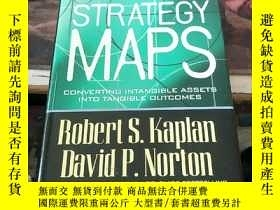 二手書博民逛書店Strategy罕見Maps:Converting Intangible Assets into Tangible