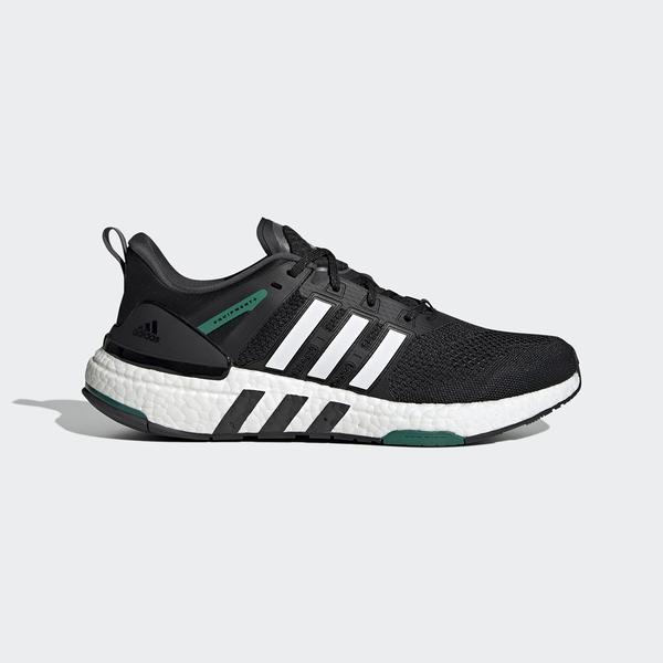 Adidas EQUIPMENT+ 男款黑白色運動慢跑鞋-NO.H02759