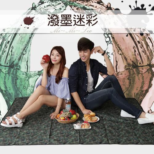 Mi-Mi-Leo 台灣製超潑水野餐墊 - 牛仔丹寧90cmx145cm