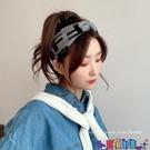 針織髮帶 秋冬針織束髮帶少女氣質頭箍韓國網紅甜美街頭髮箍外戴綁髮頭飾酷 寶貝計畫 618狂歡