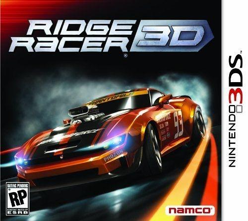 3DS Ridge Racer 3D 實感賽車 3D(美版代購)