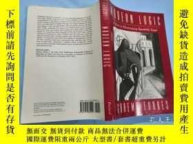 二手書博民逛書店英文16開:Modern罕見Logic: A Text In Elementary Symbolic Logic奇