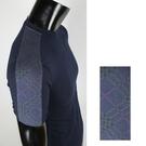 BURBERRY經典格紋短袖上衣(藍色)085165