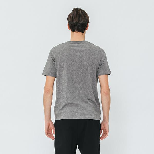 男裝-Roots 經典短袖T恤 - 灰色